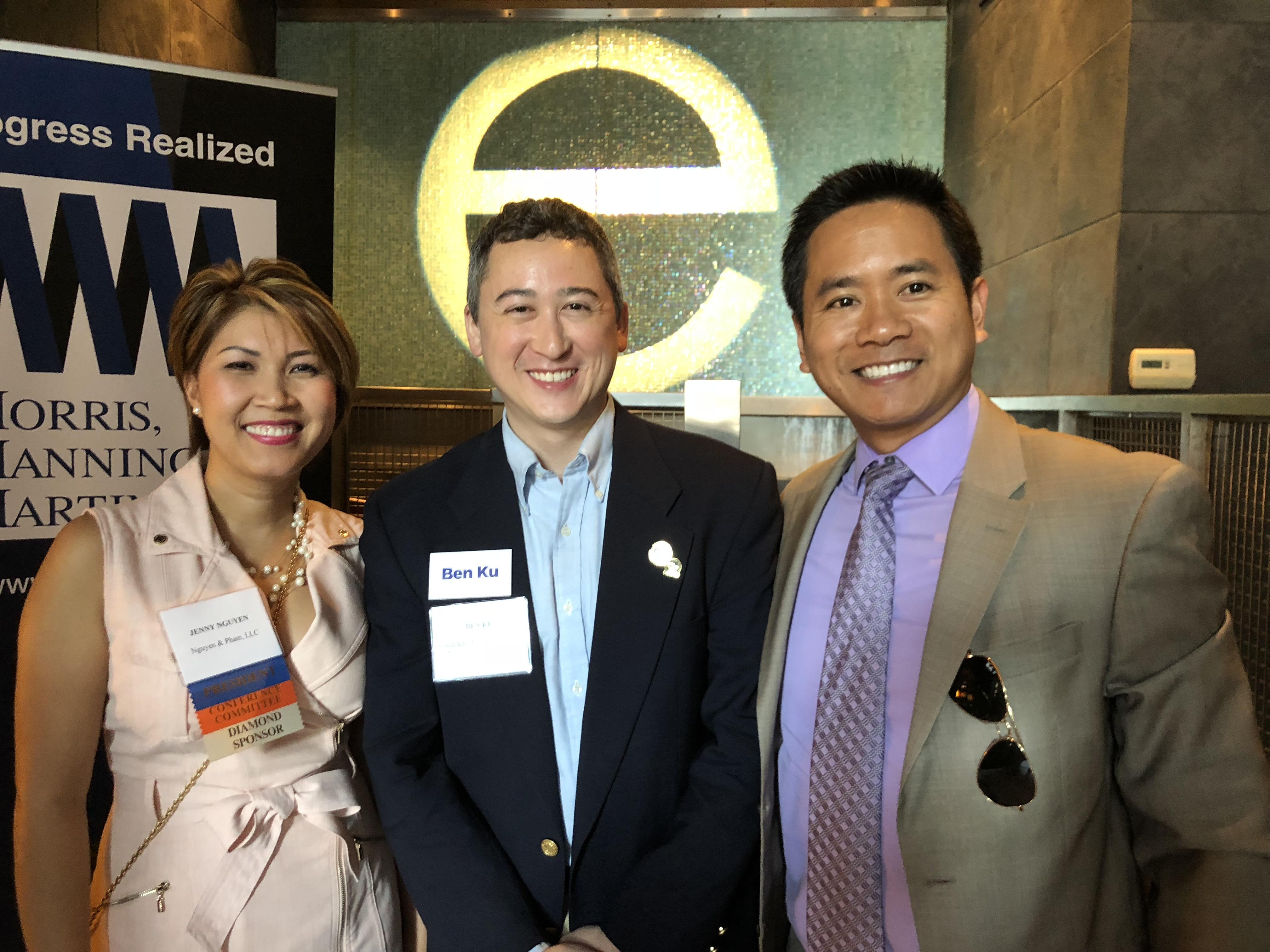 Ethan Pham, Ben Ku, and Jenny Nguyen