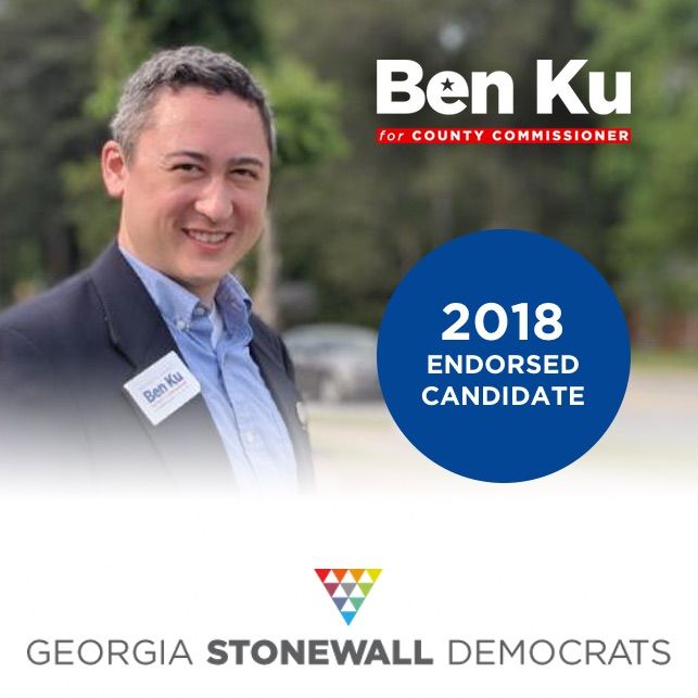 Georgia Stonewall Democrats 2018 endorsed candidate